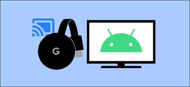 The Android and Chromecast logos.