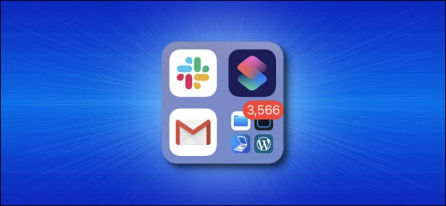Apple iPhone App Library Notification Badges