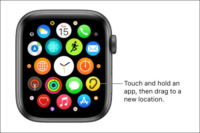 Apple Watch jiggle mode