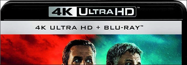An ad for 4K Ultra HD Blu-ray.