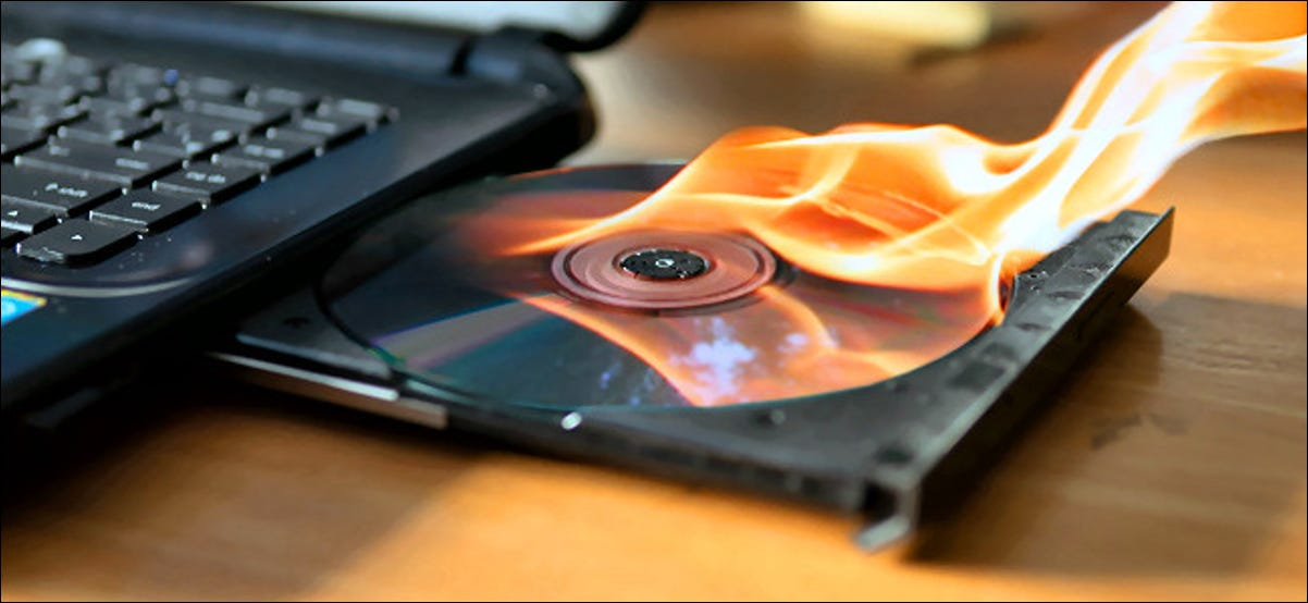 Burning a CD in a Laptop Drive