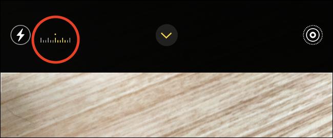 iOS 14 Camera Exposure Meter