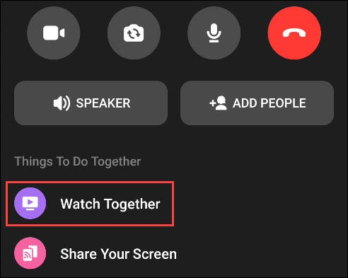 select watch together