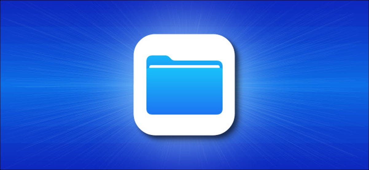 Apple iOS files App Icon Hero