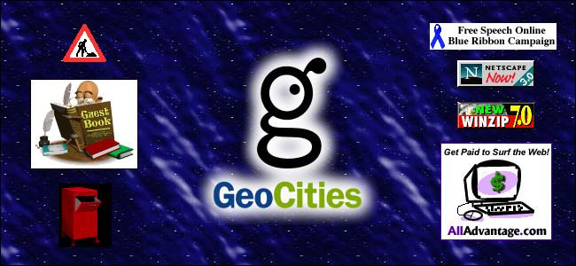GeoCities logo