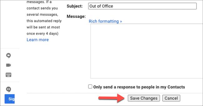 """Haga clic en """"Guardar cambios""""."""