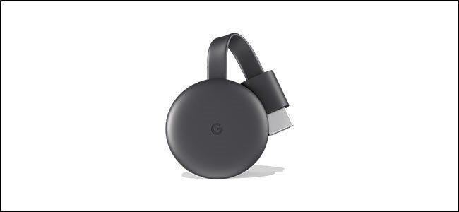 A Google Chromecast dongle.