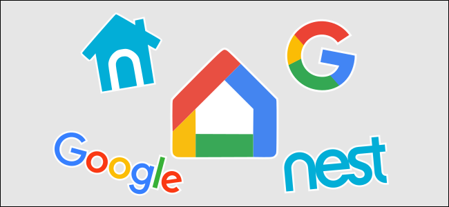 The Google Home and Nest logos.