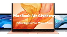 Win a MacBook Air in Our New Giveaway