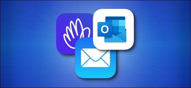 Three iPhone and iPad Email App Icons
