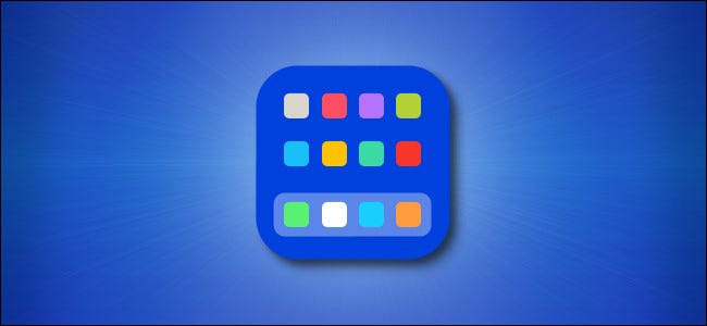 Pantalla de inicio de iOS y iPadOS.