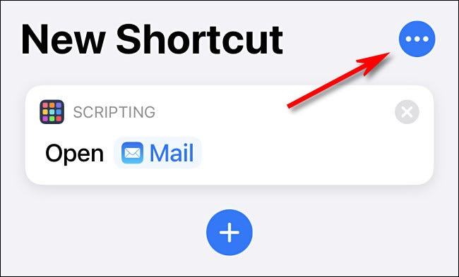 Tap the ellipses button (three dots).