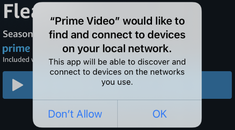 """Why iPhone Apps Ask for """"Devices on Your Local Network"""""""