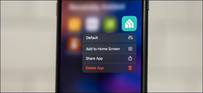Move an app from the app library to your iPhone home screen