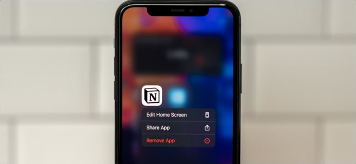 Move an app from your iPhone home screen to the app library