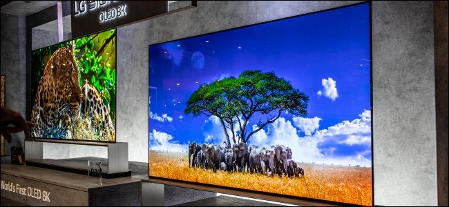LG 8K OLED TVs at IFA 2019.