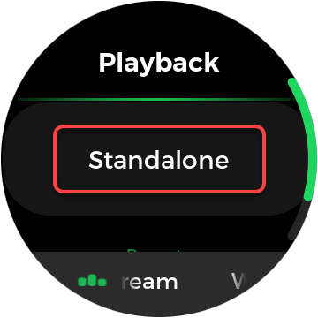 spotify watch app switches to standalone