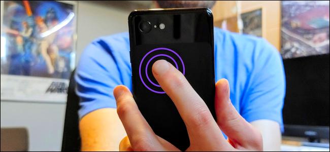 Android tap gestos héroe