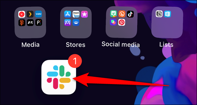 The app icon will appear on your iPhone's home screen
