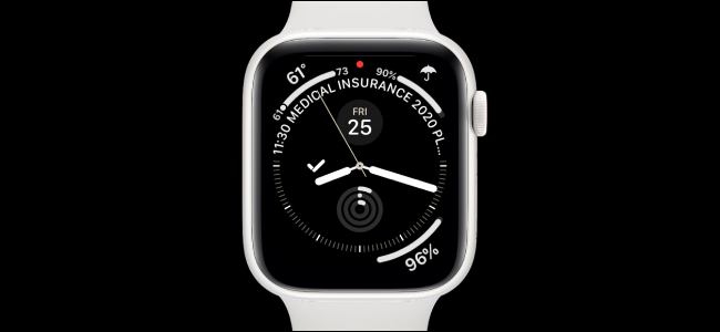 Apple Watch con esfera de reloj Infograph