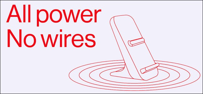 A graphic for the OnePlus Warp Wireless Pad.