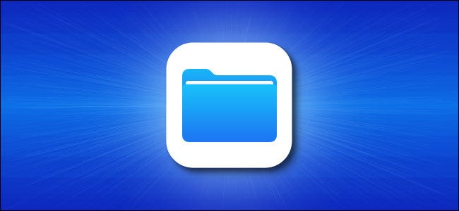 App icon for Apple iOS files.