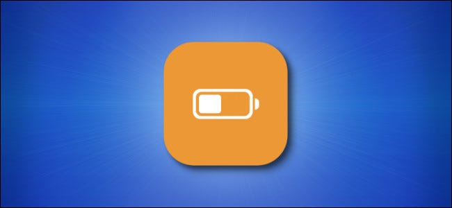 Apple iPhone and iPad Low Power Mode Icon