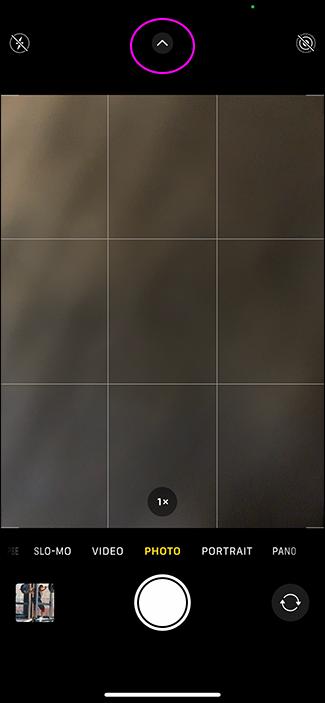 iphone photo screen