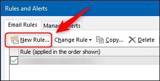 """Click """"New Rule."""""""