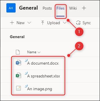"""В """"Файлы"""" вкладка, показывающая загруженные документы."""