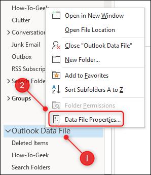 "The ""Data File Properties"" menu option."