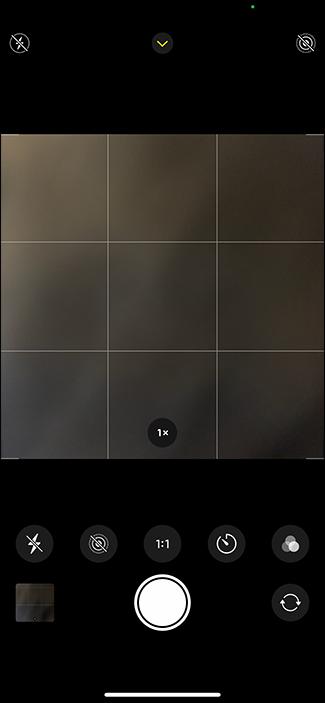 shooting square photos