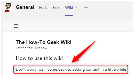 Some placeholder text in a content section.
