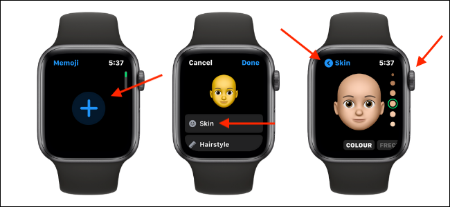 Add and Customize Memoji on Apple Watch