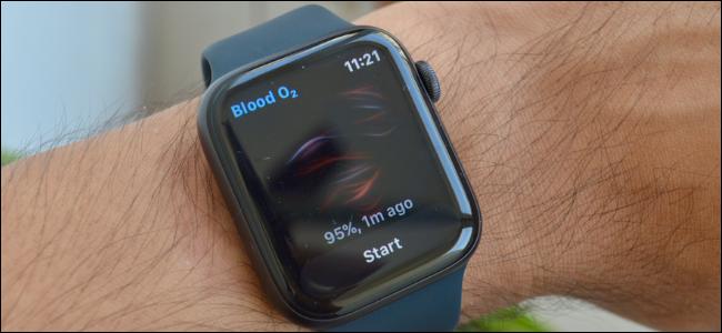 Apple Watch Series 6 Blood Oxygen App