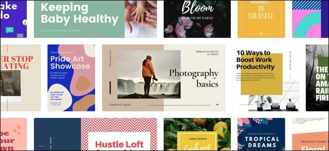 Canva Templates Collage Screen
