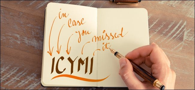 "O que significa ""ICYMI"" e como usá-lo?"