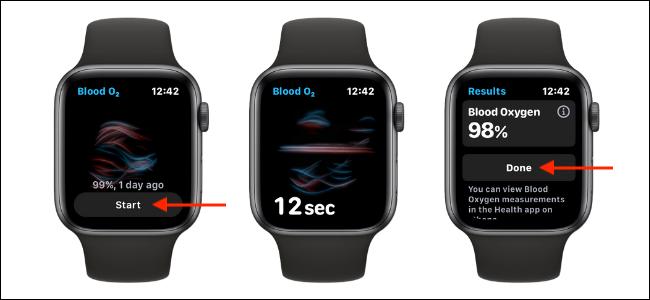 Measure Blood Oxygen Levels on Apple Watch