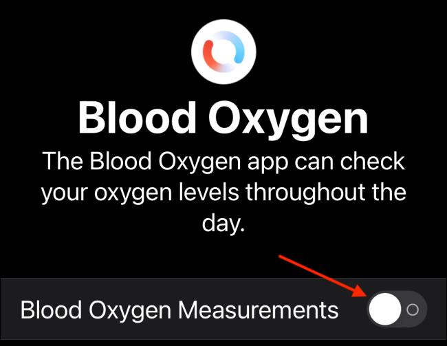 Tap Mediciones de oxígeno en sangre