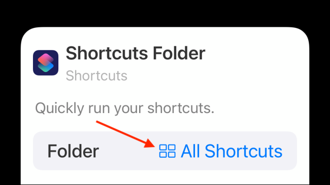 Tap Folder