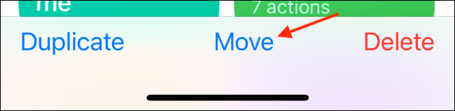 Tap Move