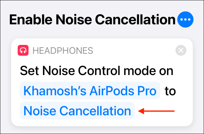 Tap Noise Cancellation