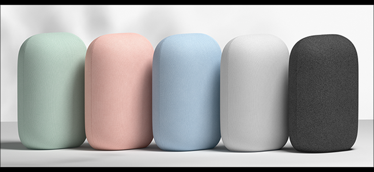 Nest Audio in various colors