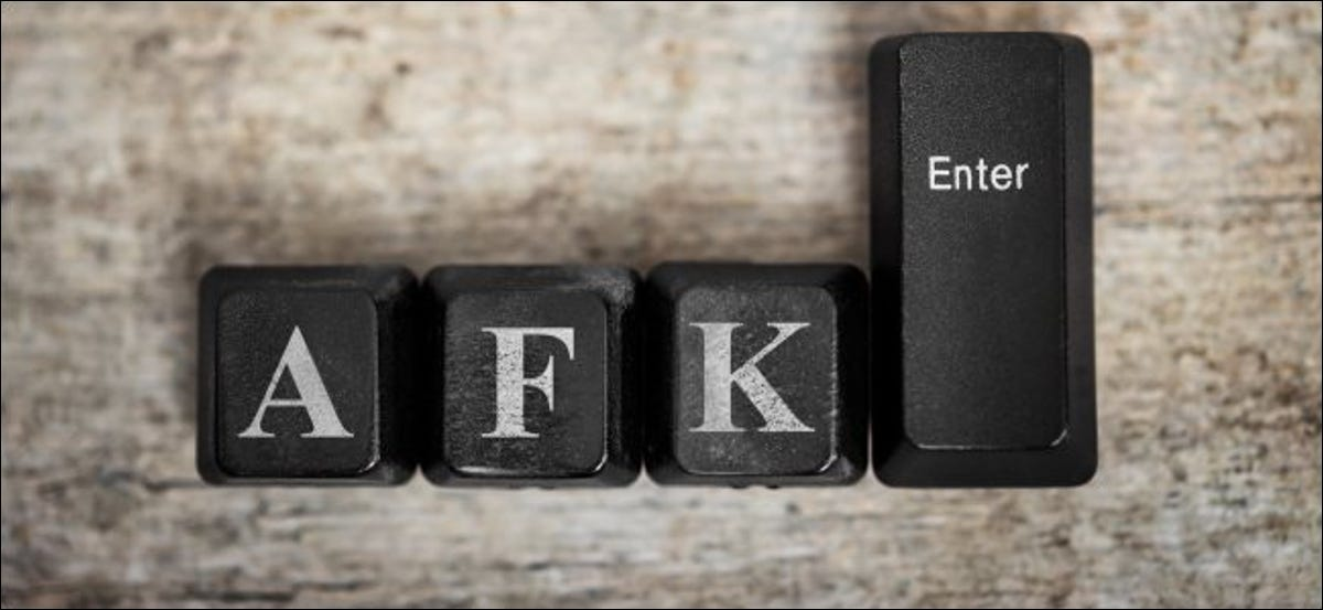 The A, F, K, and Enter keys from a computer keyboard.
