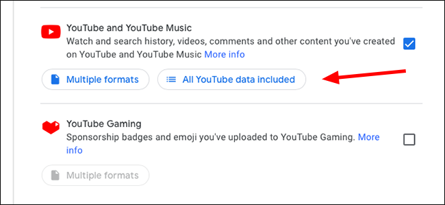 google takeout all youtube
