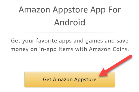 Click the download button on the app store you want.