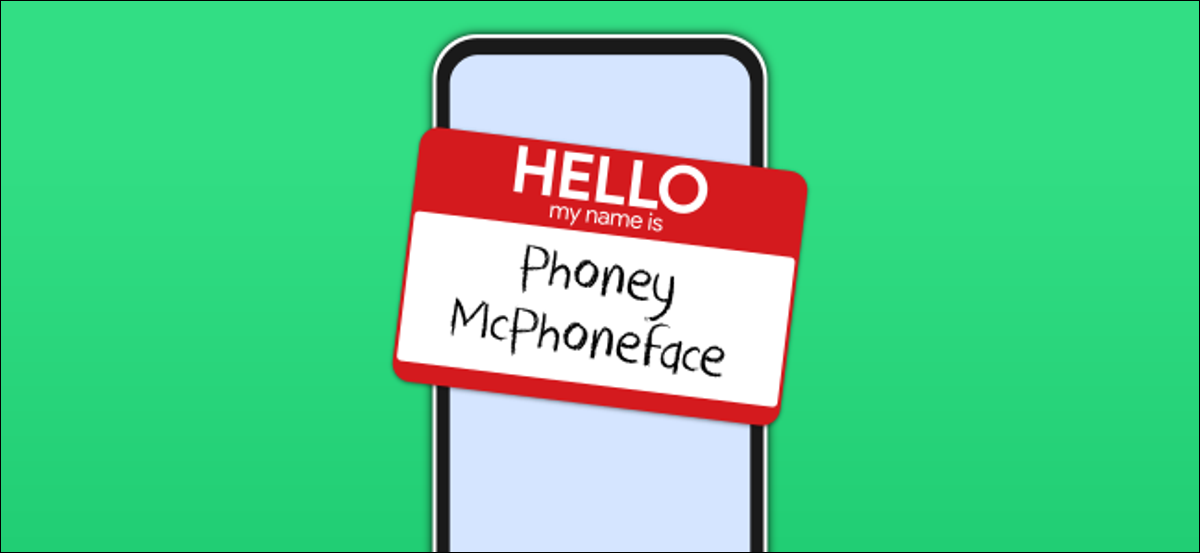 android phone name