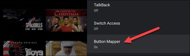 "Select ""Button Mapper."""