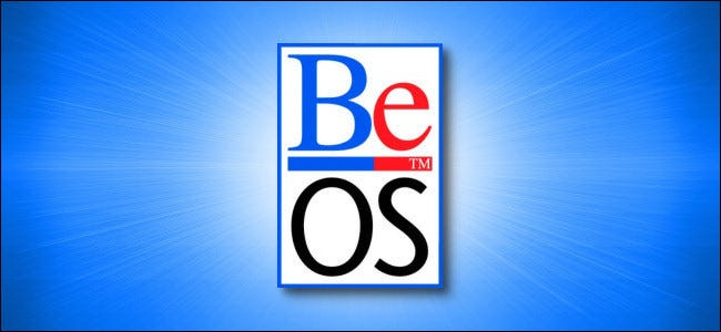 The BeOS logo.