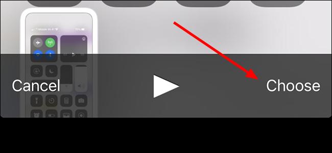 choose video